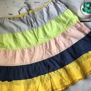 J CREW Women's Multi Colored Skirt